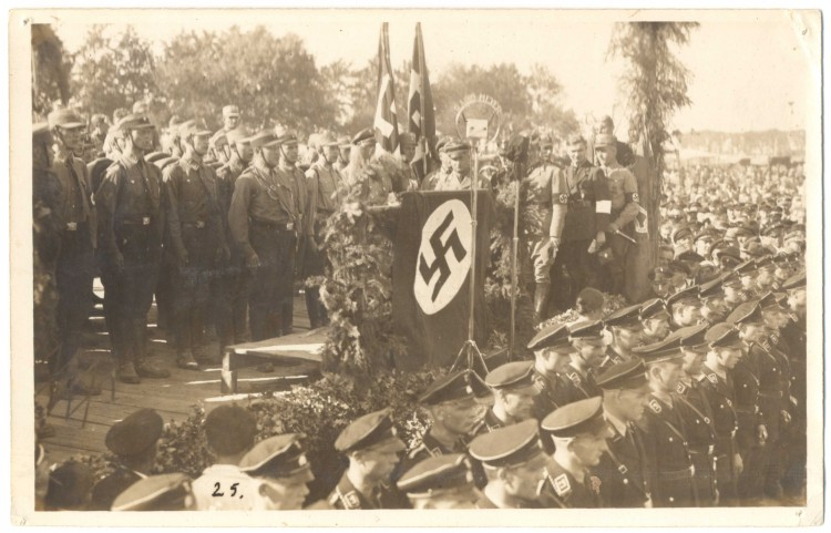 Shromáždění oddílů SA a SS, Kaplice
