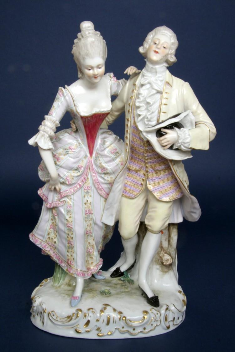 Figurální porcelán z Míšně, 1800-1860