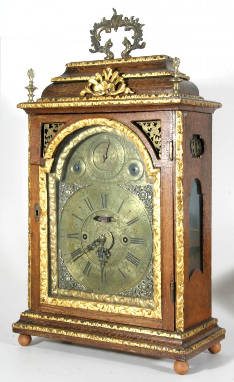 Skříňové hodiny, Vídeň, kolem roku 1750