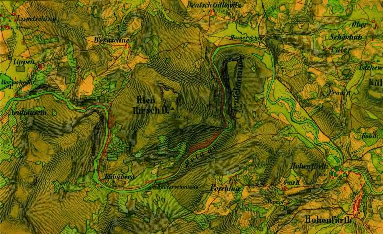 1_C.Deutsch_ Návrh plavebnho kanálu kolem Čertových proudů_1871