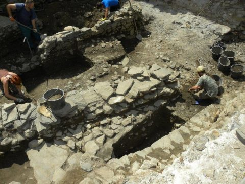 Archeologové v terénu