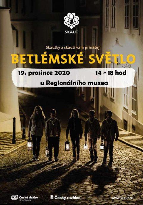 Plakát - Betlémské světlo