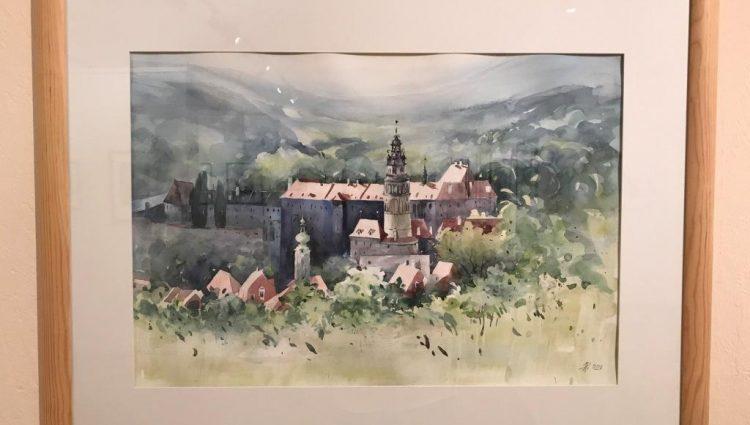 Obraz Českého Krumlova